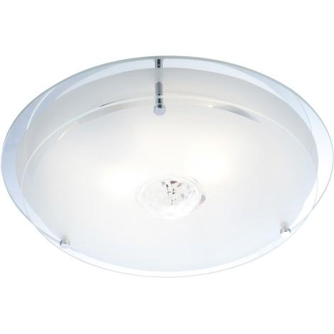 GLOBO 48527 - Malaga mennyezeti lámpa 2xE27/60W