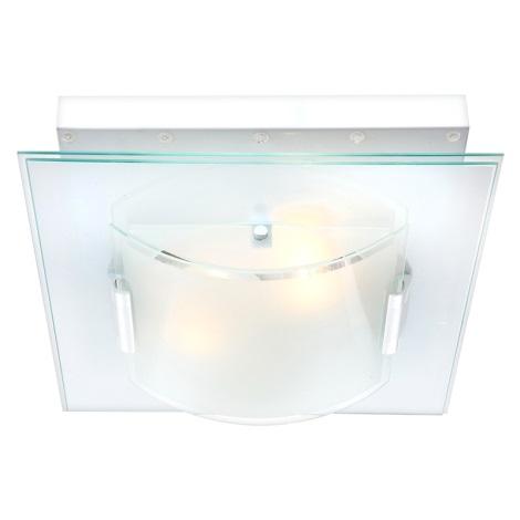 GLOBO 48621 - NUBIGENA LED-es mennyezeti lámpa 2xE27/60W+28xLED/0,06W/12V