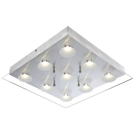 GLOBO 49200-9 - LED-es mennyezeti lámpa LED BERTO 9xLED/5W
