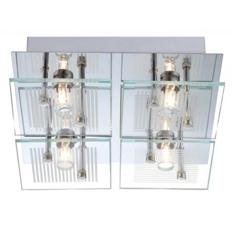 GLOBO 49201-4 - Mennyezeti lámpa GILMA 4xG9/33W/230V