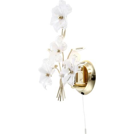 GLOBO 5107 - FLOWER fali lámpa 1xE14/40W