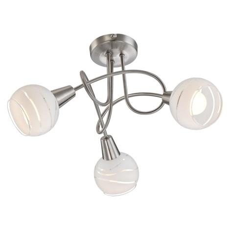 Globo 54341-3 - LED mennyezeti lámpa ELLIOTT 3xE14/4W/230V
