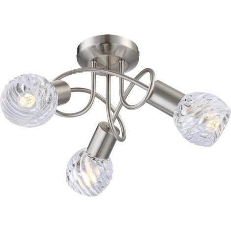 GLOBO 54344-3D - Felületre szerelhetó LED lámpa Boronia 4xE14/4W/230V