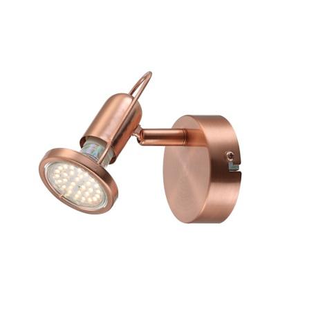 GLOBO 54383-1 - LED spotlámpa COPPER 1xLED/3W/230V