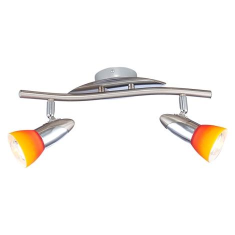 GLOBO 5442-2 - LORD IV fali/mennyezeti lámpa 2xE14/40W
