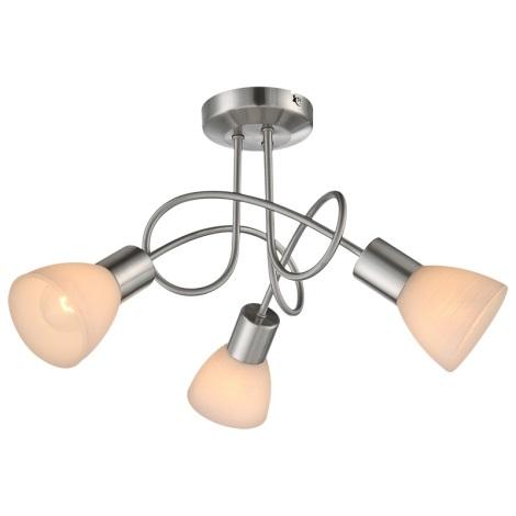Globo 54533-3D - Mennyezeti lámpa PANNA 3xE14/40W/230V