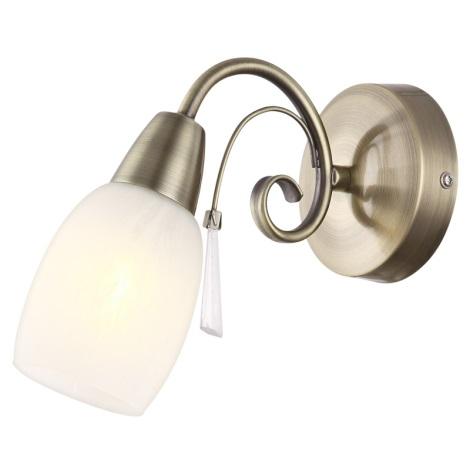 Globo 54645-1W - Fali lámpa FORREST 1xE14/40W/230V