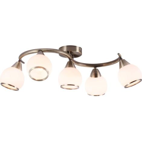 GLOBO 54701-5 - Mennyezeti lámpa  MISTRAL 5xE14/40W