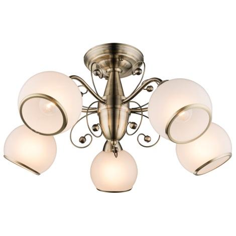 Globo 54713-5D - Mennyezeti lámpa COMODORO I 5xE14/40W/230V
