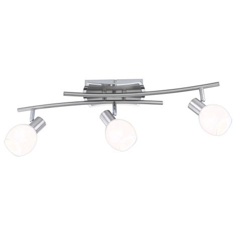 GLOBO 56197-3 - LED ADELA LED-es mennyezeti lámpa 3xLED/4W/10V