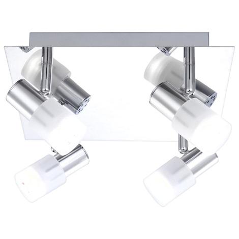 GLOBO 56200-4 - GLOSS LED-es spotlámpa 4xLED/3W/3,5V