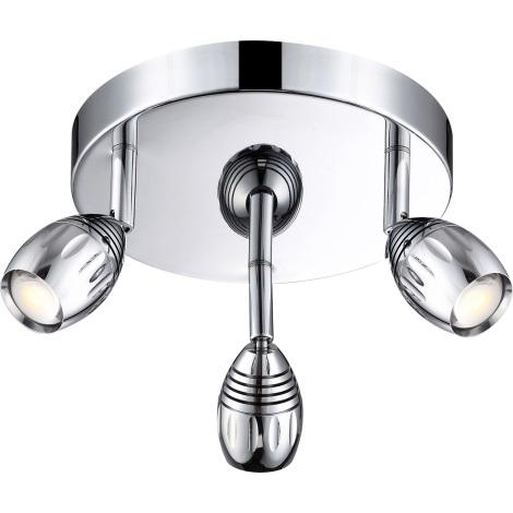 GLOBO 56203-3 - LED spotlámpa MORELIA 3xLED/5W