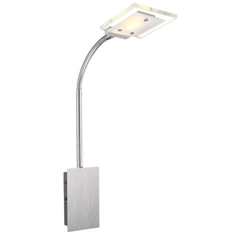 Globo 56204-1W - Fali lámpa AURELE LED 1xLED/5W/230V