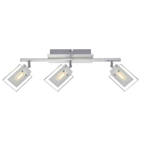Globo 56204-3 - LED Spotlámpa AURELE 3xLED/5W/230V