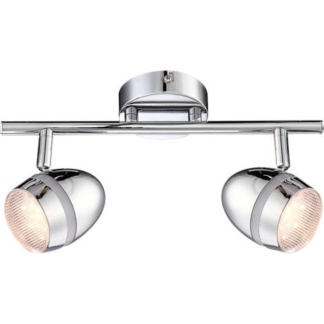 GLOBO 56206-2 - MANJOLA LED-es spotlámpa 2xLED/3W