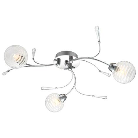 GLOBO 56393-3D - DANAS LED-es mennyezeti lámpa 3xG9/28W