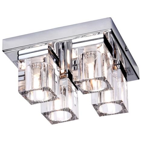 GLOBO 56440-4 - CUBS mennyezeti lámpa  4xG9/40W