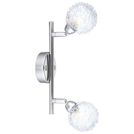 GLOBO 56624-2 - Mennyezeti lámpa ORINA  2xG9/33W