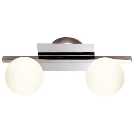 GLOBO 5663-2 - Fürdőszobai lámpa CARDIFF 2xG9/33W/230V