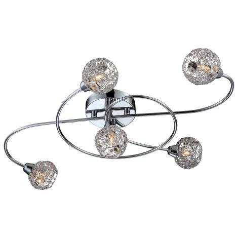 Globo 5668-5 - Mennyezeti lámpa SINCLAIR 5xG9/33W/230V
