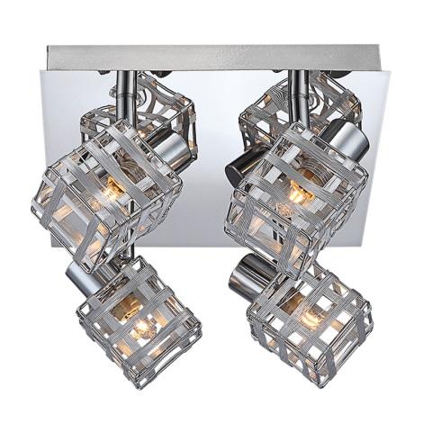 Globo 56691-4 - Mennyezeti lámpa THUNDER 4xG9/33W/230V