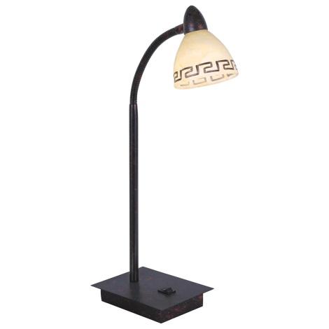 GLOBO 5684-1T - ROMA asztali lámpa 1xG9/33W