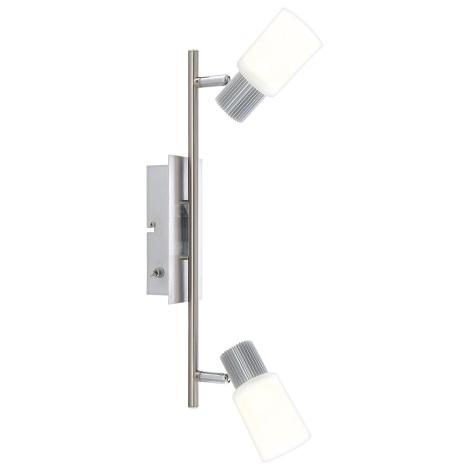 GLOBO 56913-2 - LISTER fali lámpa 2xLED/5W/6,5V