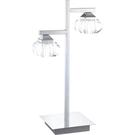 GLOBO 5692-2T - CUBUS asztali lámpa 2xG9/33W