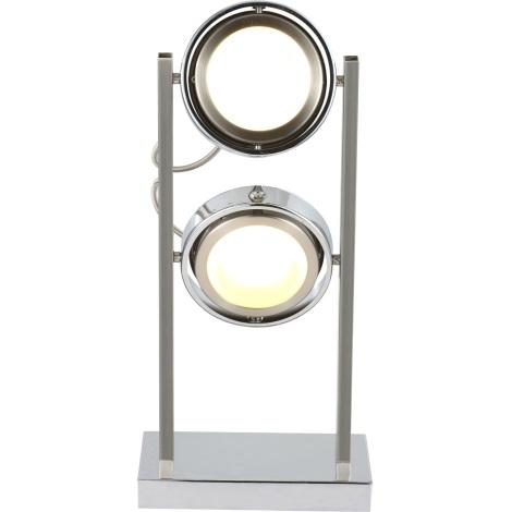 GLOBO 56946-2T - BARONI asztali lámpa 2xLED/5W/15V