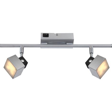 GLOBO 56949-2 - VIKA LED-es spotlámpa 2xLED/5W
