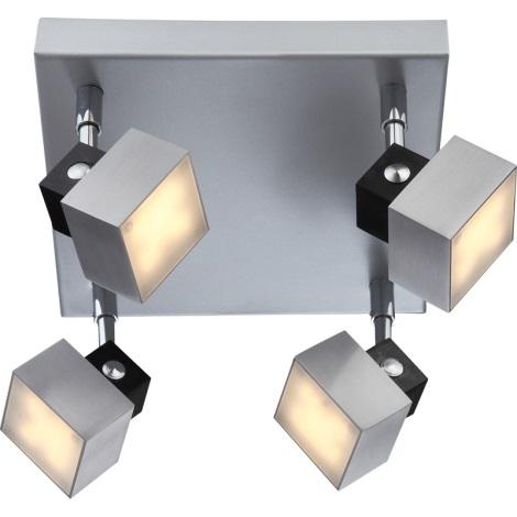 GLOBO 56949-4 - VIKA LED-es spotlámpa 4xLED/5W