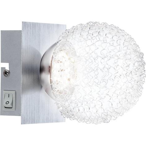 GLOBO 56962-1 - DEVILLE fali lámpa 1xLED/5W/3,5V