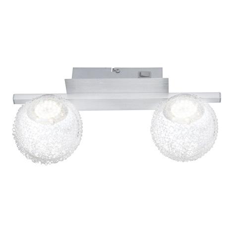 GLOBO 56962-2 - DEVILLE fali lámpa 2xLED/5W/3,5V
