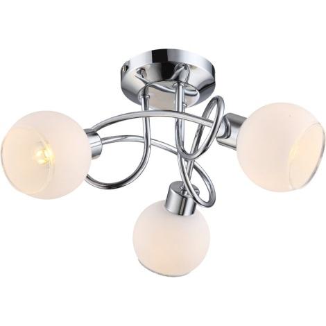 GLOBO 56963-3 - LED-es mennyezeti lámpa Siony 3xGU10/4W LED