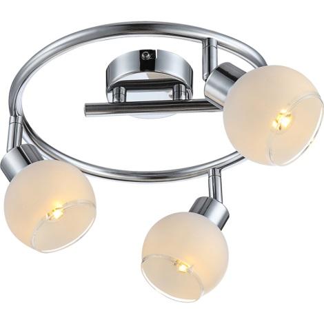 GLOBO 56963-3S - SIONY LED-es mennyezeti lámpa 3xGU10/4W