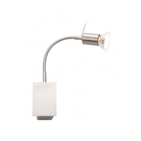 GLOBO 5730-1W - GROSETTO fali lámpa 1xGU10/50W