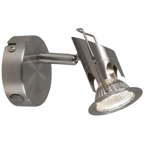 GLOBO 57350-1 - Spot fali lámpa  MOA 1xGU10/50W/230V