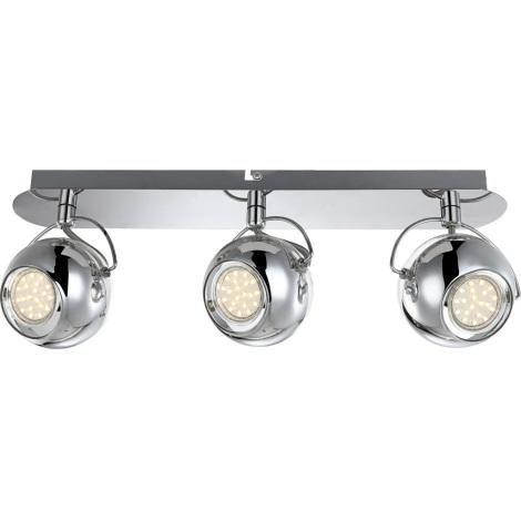 GLOBO 57880-3 - ARAMID mennyezeti lámpa 3xGU10LED/3,5W