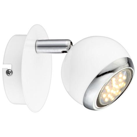 GLOBO 57882-1 - OMAN LED-es fali lámpa 1xGU10/2,5W