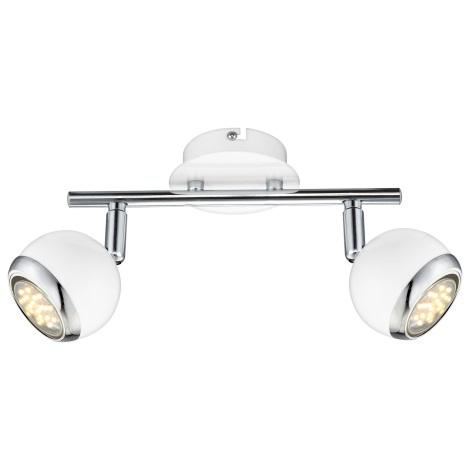GLOBO 57882-2 - OMAN LED-es spotlámpa 2xGU10/2,5W