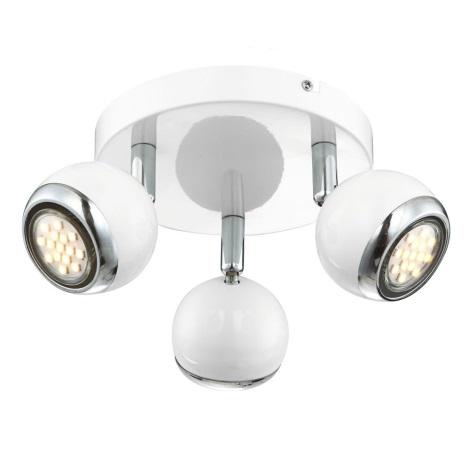 GLOBO 57882-3 - OMAN LED-es spotlámpa 3xGU10/2,5W