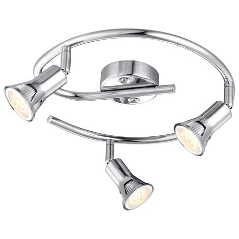 GLOBO 57994-3 - DANTE LED-es spotlámpa 3xGU10LED/3W