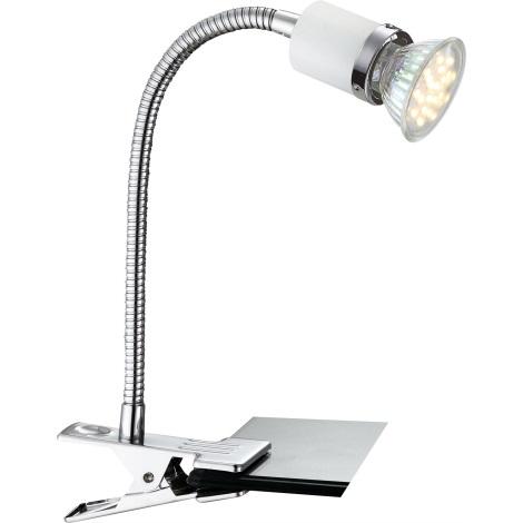 GLOBO 57996-1K - FINA  LED-es asztali lámpa 1xGU10LED/2,5W
