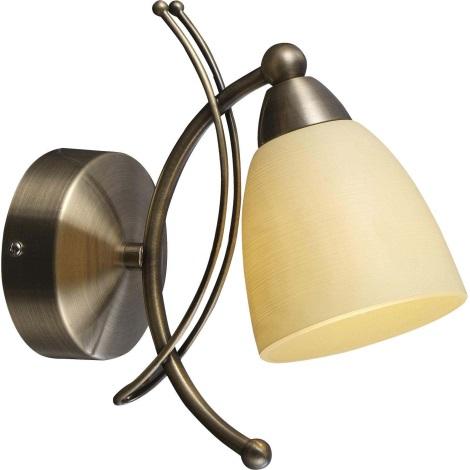 GLOBO 60201W - BUGARA fali lámpa 1xE14/40W