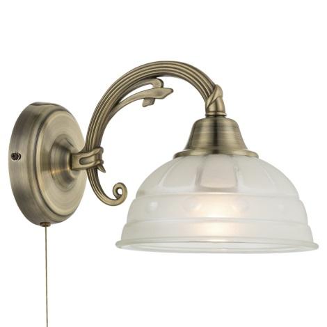 Globo 60207W - Fali lámpa HORUS 1xE27/60W/230V