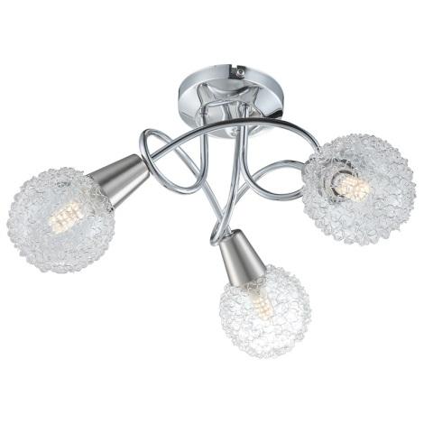 Globo 63179-3 - Mennyezeti lámpa TIMON 3xE14/40W/230V
