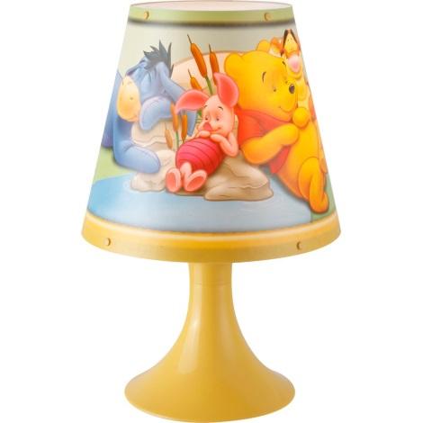 GLOBO 662312 - WINNIE POOH asztali lámpa 1xG24q/10W
