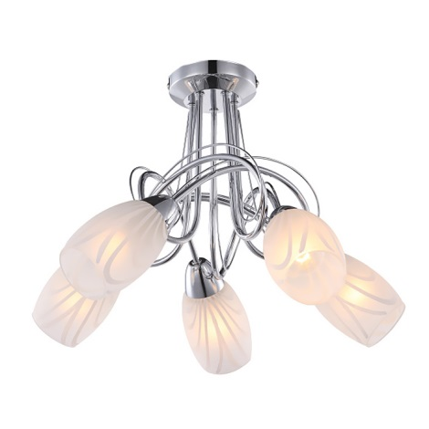 Globo 67131-5 - Mennyezeti lámpa LUIGI 5xE14/40W/230V