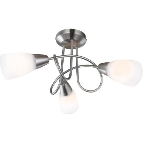 GLOBO 67132-3 - INDIRA mennyezeti lámpa 3xE14/40W