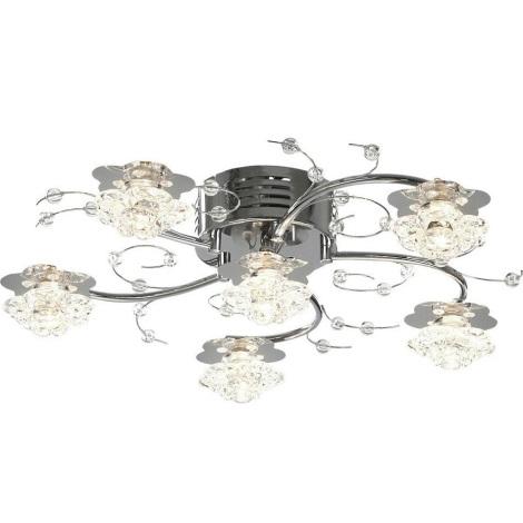 Globo 68330-6 - LED lámpa  LED Laca 6XG4/20W/230V + 25XLED/0,06W/3V